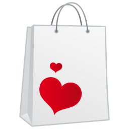 256x256px size png icon of shoppingbag