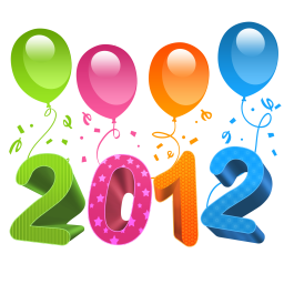 256x256px size png icon of 2012