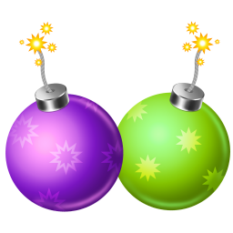 256x256px size png icon of firecracker 2
