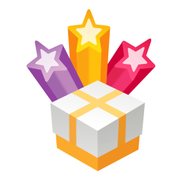 256x256px size png icon of christmas gifts