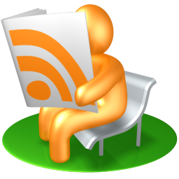 256x256px size png icon of RSS Reader