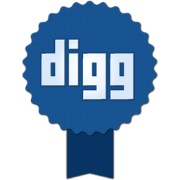 256x256px size png icon of digg