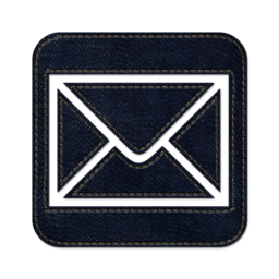 256x256px size png icon of Mail square