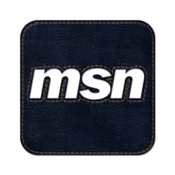 256x256px size png icon of Msn square