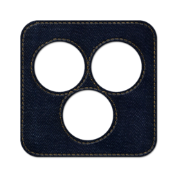 256x256px size png icon of Simpy square