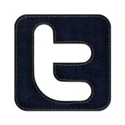 256x256px size png icon of Twitter square