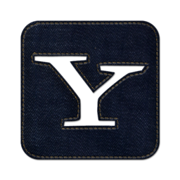 256x256px size png icon of Yahoo square