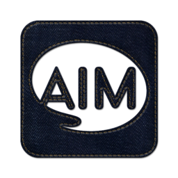 256x256px size png icon of aim square