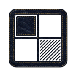 256x256px size png icon of delicious square