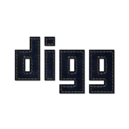 256x256px size png icon of digg 2