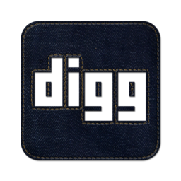 256x256px size png icon of digg2 square