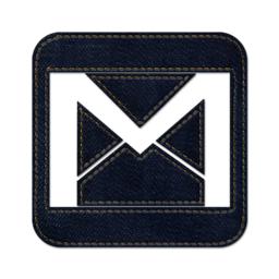 256x256px size png icon of gmail square 2
