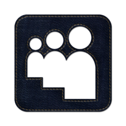 256x256px size png icon of myspace square 2