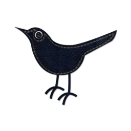 256x256px size png icon of twitter bird 2