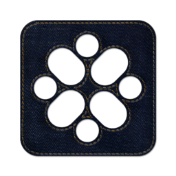 256x256px size png icon of ziki square 2