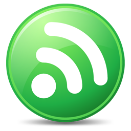 256x256px size png icon of Feeds Green