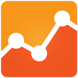 256x256px size png icon of Google Analytics