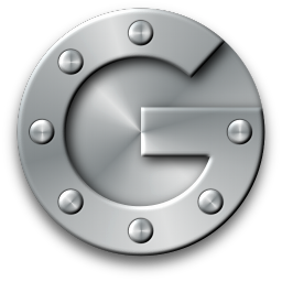 256x256px size png icon of Google Authenticator