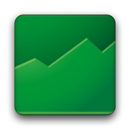 256x256px size png icon of Google Finance
