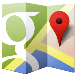 256x256px size png icon of Google Maps