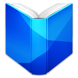 256x256px size png icon of Google Play Books