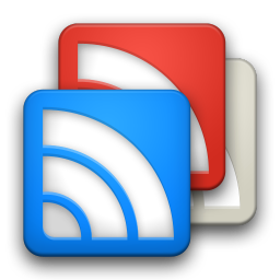 256x256px size png icon of Google Reader