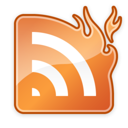 256x256px size png icon of NewsFire (Gloss)