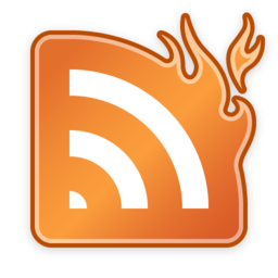 256x256px size png icon of NewsFire (Matte)
