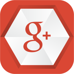256x256px size png icon of google plus