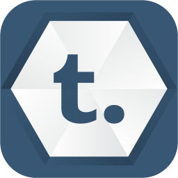 256x256px size png icon of tumblr