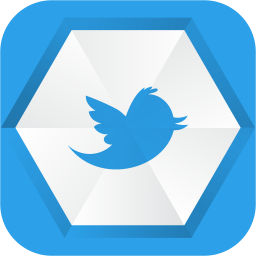 256x256px size png icon of twitter