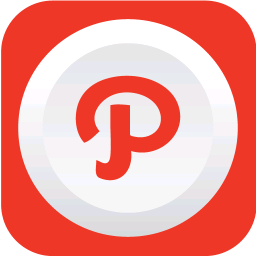 256x256px size png icon of path