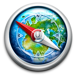 256x256px size png icon of World