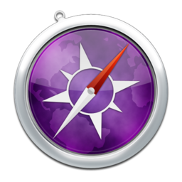 256x256px size png icon of safari11