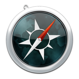 256x256px size png icon of safari12