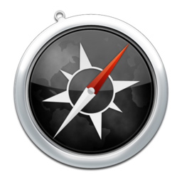 256x256px size png icon of safari3
