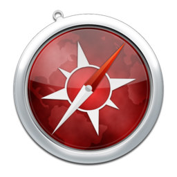 256x256px size png icon of safari5