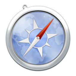 256x256px size png icon of safari6