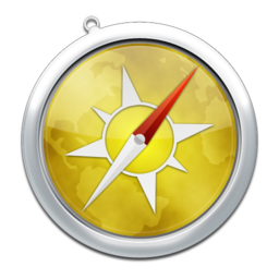 256x256px size png icon of safari8