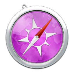 256x256px size png icon of safari9
