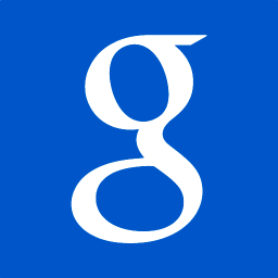 256x256px size png icon of google