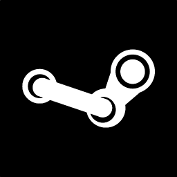 256x256px size png icon of steam