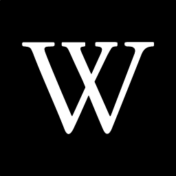 256x256px size png icon of wikipedia