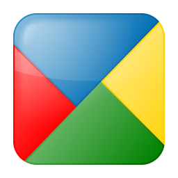 256x256px size png icon of social google buzz box