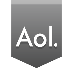 256x256px size png icon of Aol