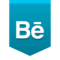 256x256px size png icon of Behance