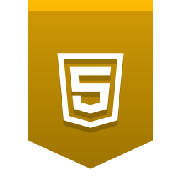 256x256px size png icon of HTML5