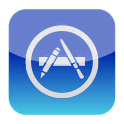 256x256px size png icon of Apple App Store