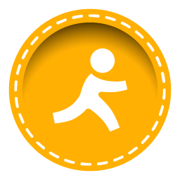 256x256px size png icon of aim