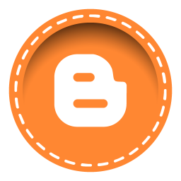 256x256px size png icon of blogger